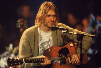Kurt Cobain's MTV Unplugged Guitar Sells For Record-Setting $6 Million in Auction