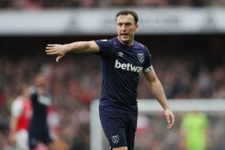 Mark Noble shares what Liverpool's Henderson told him after the Merseyside derby