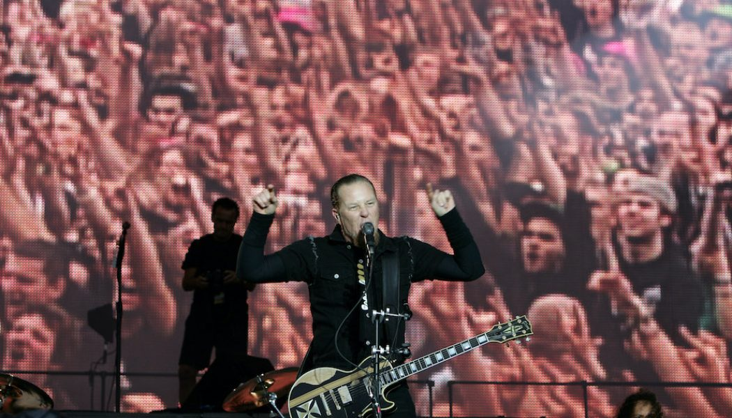 Metallica to Stream 2008 Concert From Madrid