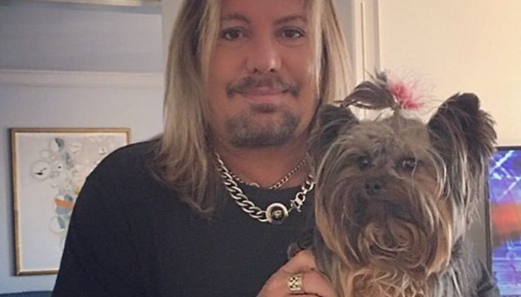 MÖTLEY CRÜE's VINCE NEIL Says His Five-Year-Old Yorkshire Terrier Was 'Brutally Murdered'