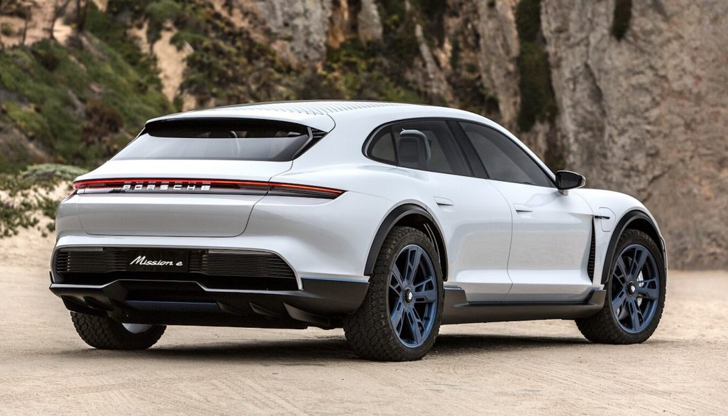 Not Taycan Its Time, Porsche Taycan Cross Turismo Coming Sooner than Expected