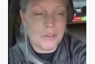 "Officer Karen Cries For Cops To ""Get A Break"" After Having To Wait For McDonald's"