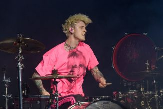 Rapper Machine Gun Kelly Is Blowing Megan Fox's Back Out, Allegedly