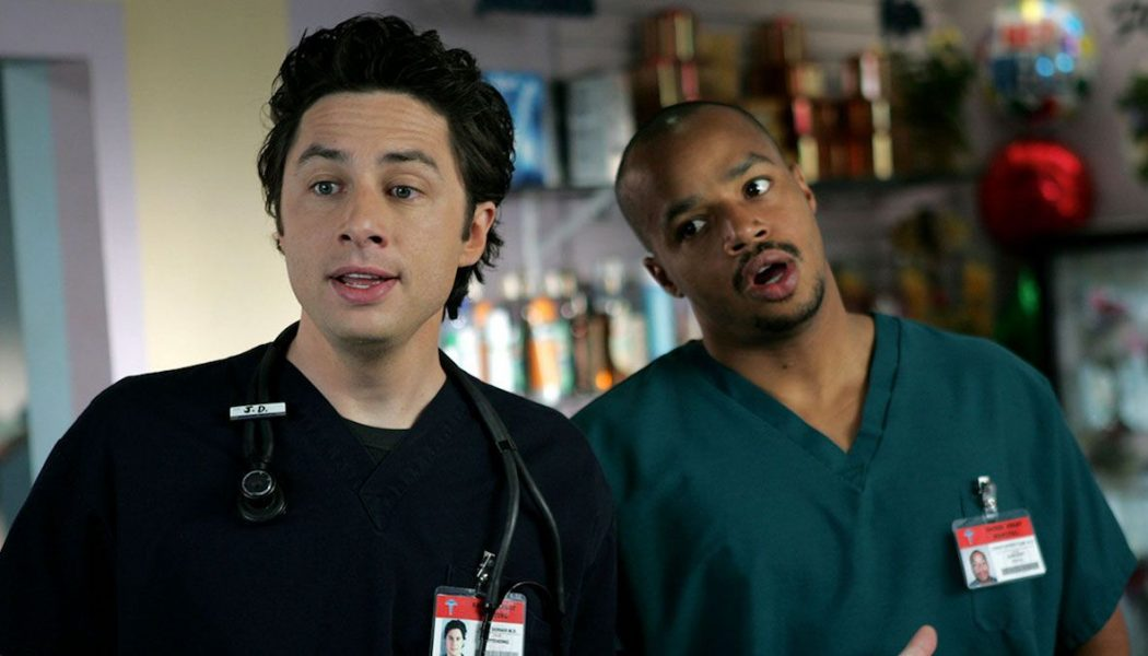 Scrubs Blackface Episodes Pulled from Hulu at Creator's Request