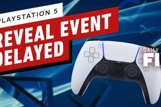 Sony Delays PS5 Reveal Event