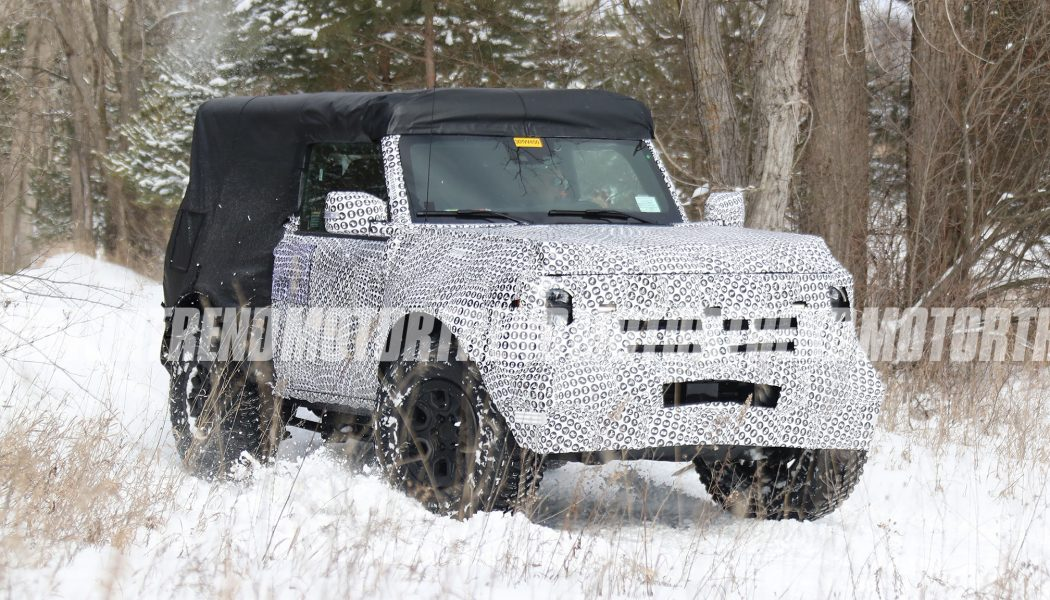 Spy Shots Show 2021 Ford Bronco's Manual Transmission With Built-In Crawler Gear