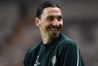 Stefano Pioli: Zlatan Ibrahimovic not ready for Roma
