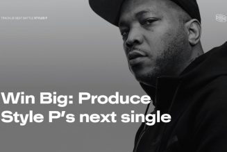 Styles P & Tracklib Team Up For A Beats Battle Competition For Up & Coming Producers