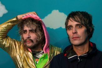 The Flaming Lips Perform Bubble-Wrapped Version of 'Race For The Prize' on 'Colbert': Watch