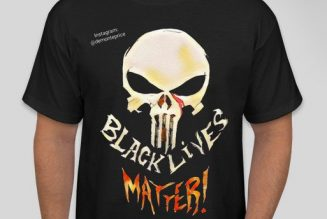 The Punisher Co-Creator Joins The Black Lives Matter Movement, Reclaims The Skull Logo From The Police
