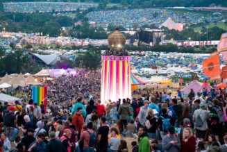 The Queen Presents Highest Award for Voluntary Services in Britain to Glastonbury Festival Medics