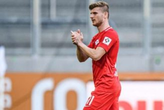 Timo Werner bids Leipzig farewell with double in victory over Augsburg