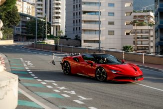 """Watch Ferrari's New """"Le Grand Rendez-Vous"""" Film Starring Leclerc and an SF90 Stradale"""