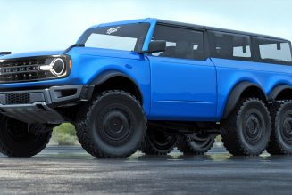2021 Ford Bronco 6×6: More Wheels, More Axle, More More