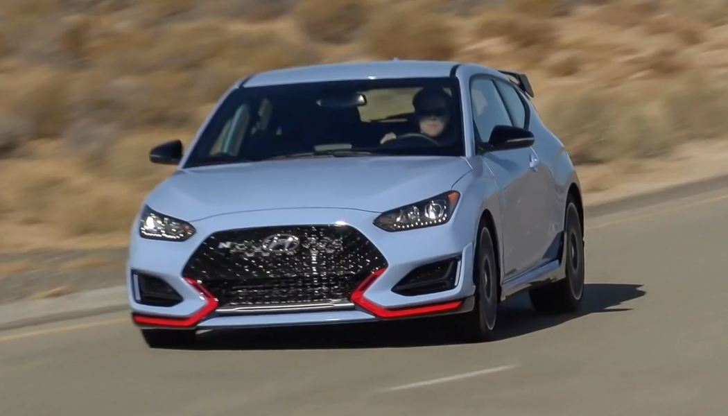 2021 Hyundai Veloster N First Look: Automatically Better?