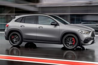 2021 Mercedes-AMG GLA 45 Closer Look: A Manic Mighty Mite from AMG