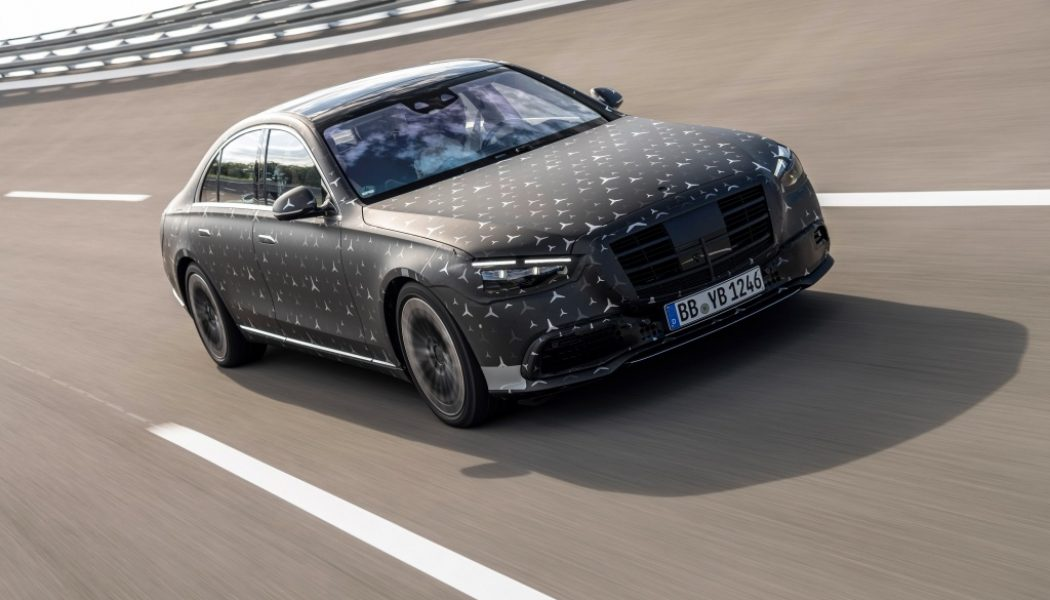 2021 Mercedes-Benz S-Class's Rear Frontal Airbags Catch Your Head