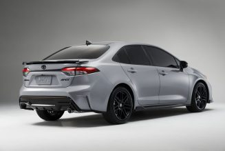 2021 Toyota Corolla Apex Edition Adds Style but No Extra Horsepower