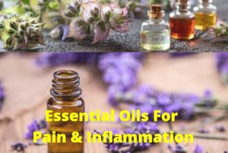 21 Essential Oils For Pain & Inflammation And How To Use Them