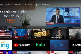 Amazon Fire TV Live adds virtual pay TV options from Sling, YouTube, and Hulu