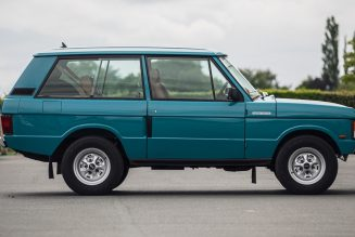 Awesome Range Rover Coupe Restomod Is a Perfect Classic 4×4