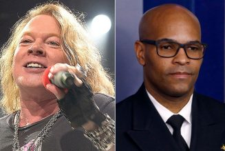 """Axl Rose Calls on Surgeon General to Resign: """"America Deserves Better"""""""