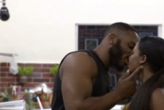 BBNaija Update: Watch the moment Kiddwaya and Erica kissed during truth or dare