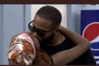 BBNaija Update: Wathoni and Kiddwaya kiss for 20 seconds in truth or dare game