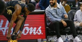 Drake Goes To Barbados To Shoot Some Hoops, Rihanna Still Not Impressed