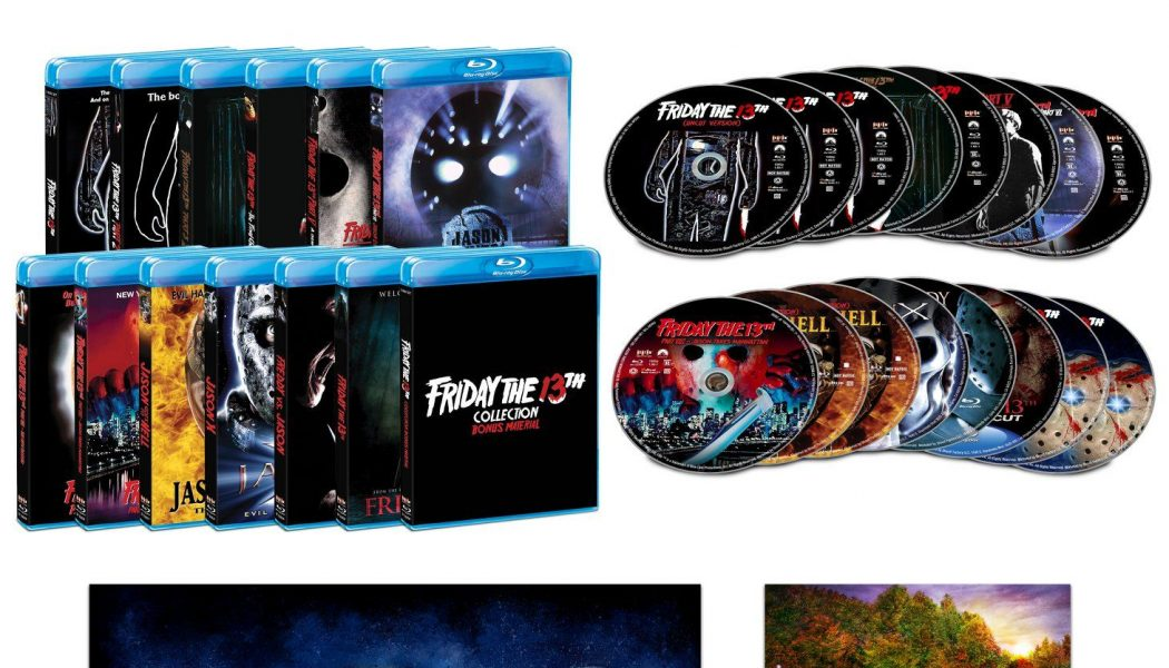 Epic Friday the 13th Blu-ray Box Set Announced for October