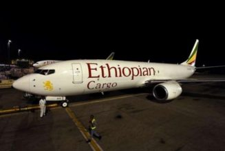 Ethiopian Airlines cargo plane catches fire at Shanghai airport, no casualties