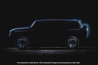 GM teases Hummer EV truck and SUV ahead of new late 2020 reveal date