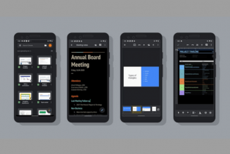 Google Rolls Out Dark Mode on G Suite Apps