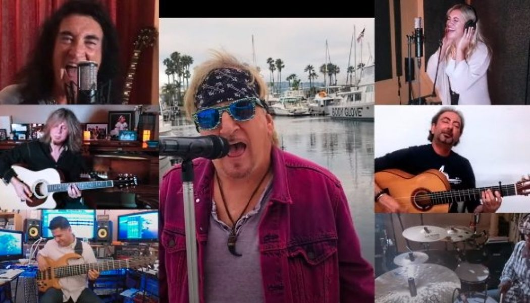 JACK RUSSELL Teams Up With ROBIN MCAULEY For Quarantine Acoustic Cover Of TOTO's 'Hold The Line'