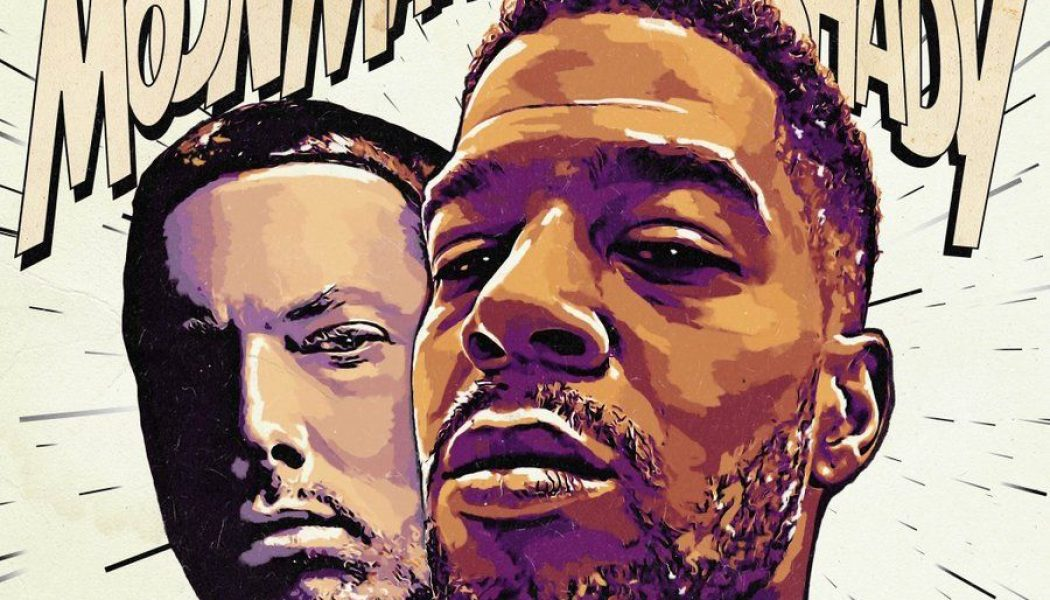 "Kid Cudi and Eminem Release New Collaborative Single ""The Adventures of Moon Man and Slim Shady"": Stream"