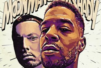 """Kid Cudi and Eminem Release New Collaborative Single """"The Adventures of Moon Man and Slim Shady"""": Stream"""
