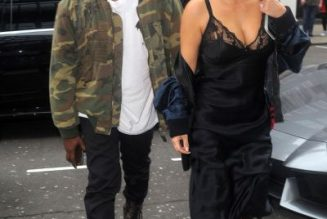 Kim Kardashian Visits Kanye West At Their Wyoming Home, Appear To Argue After Wendy's Visit