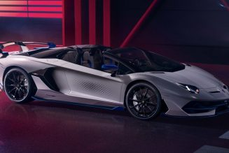Lamborghini Aventador SVJ Xago Edition Is a Hectare of Hexagons