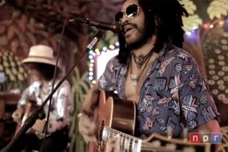 Lenny Kravitz Calls Fans to Consider 'What Side of History You Standing On?' on NPR Tiny Desk
