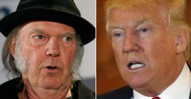 Neil Young Again Lashes Out At Trump Over Unauthorized Use of Music