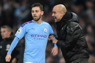 Pep Guardiola: Bernardo Silva's bad form may be my fault