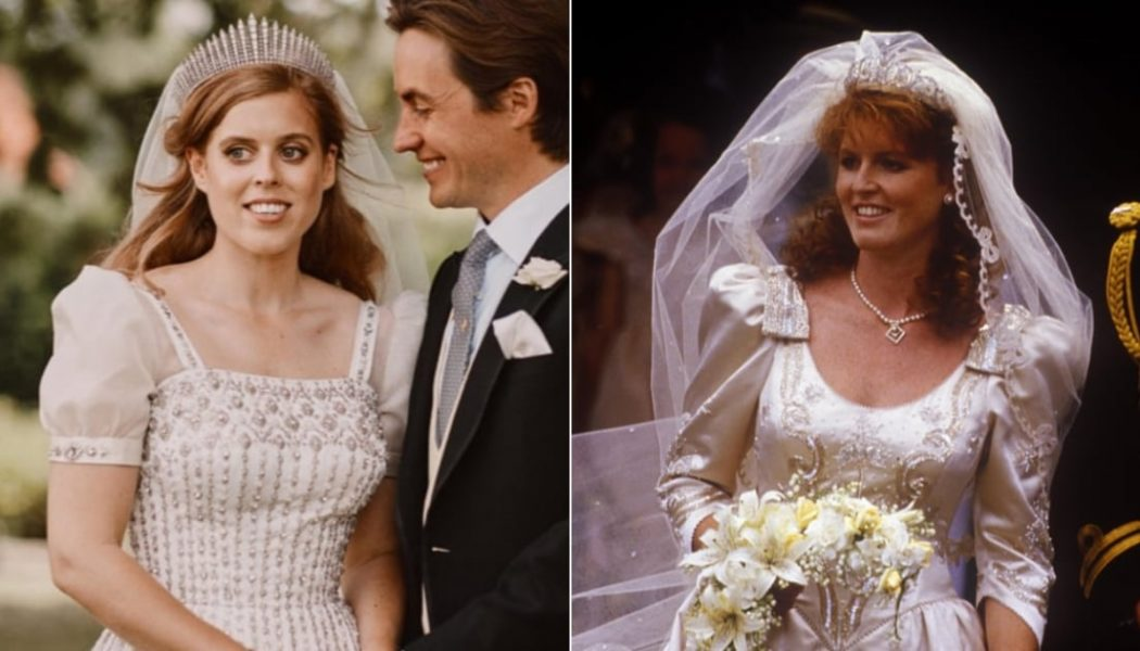 Princess Beatrice's Bridal Look Was Filled with Sweet Details For Her Mum, Sarah Ferguson