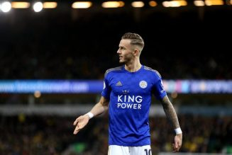 Report: Leicester star attracting interest from Man. Utd signs £110k-a-wk four-year deal
