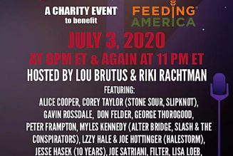 """Rock for Relief"" Virtual Benefit Concert to Feature Corey Taylor, Lzzy Hale, Alice Cooper, and More"