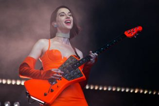 St Vincent Shares Video of Herself 'Fumbling Through 'Stairway to Heaven""