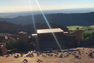 """Take a Look Inside the Return of """"Yoga on the Rocks"""" at Red Rocks Amphitheatre"""