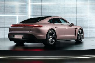 Taycan It Easy: Entry-Level Variant of Porsche's EV Debuts in China