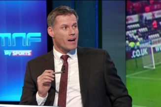 'Top class': Jamie Carragher reacts as Tottenham Hotspur reportedly close in on player
