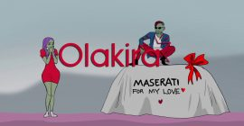 VIDEO: Olakira – In My Maserati (Visualizer)