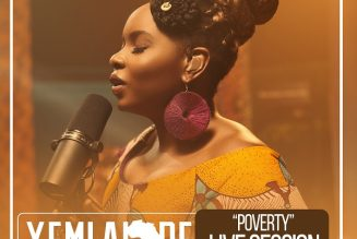 VIDEO: Yemi Alade – Poverty (Live Session)